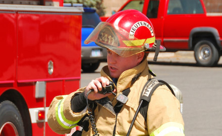 Firefighter Toolbox Radio Communication